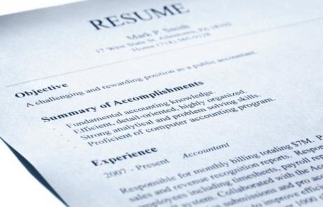 Breathing Life Into Your Sleepy Resume