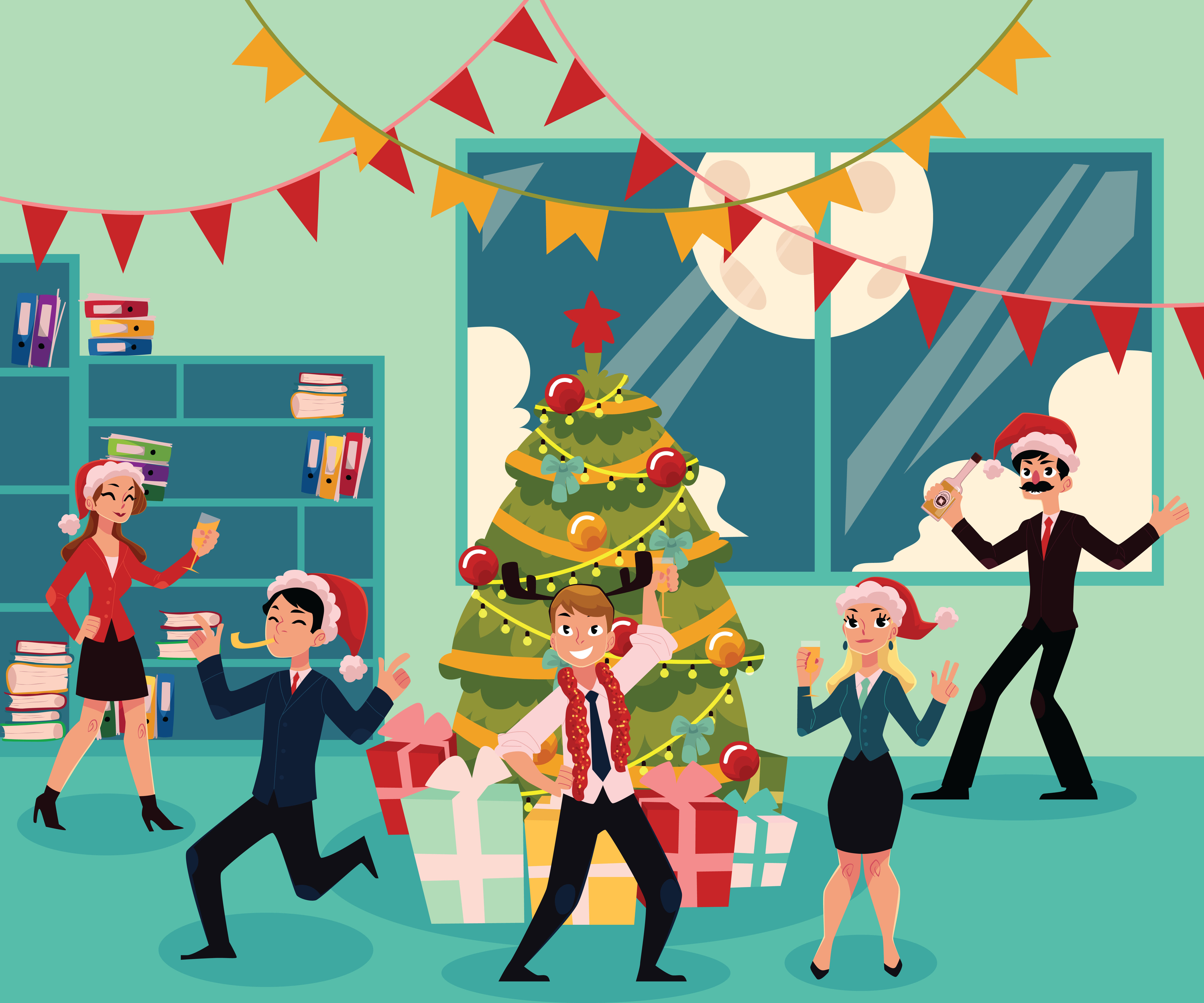 Christmas Holiday Party: Tales Of An Office Christmas Party… Job Satisfaction At