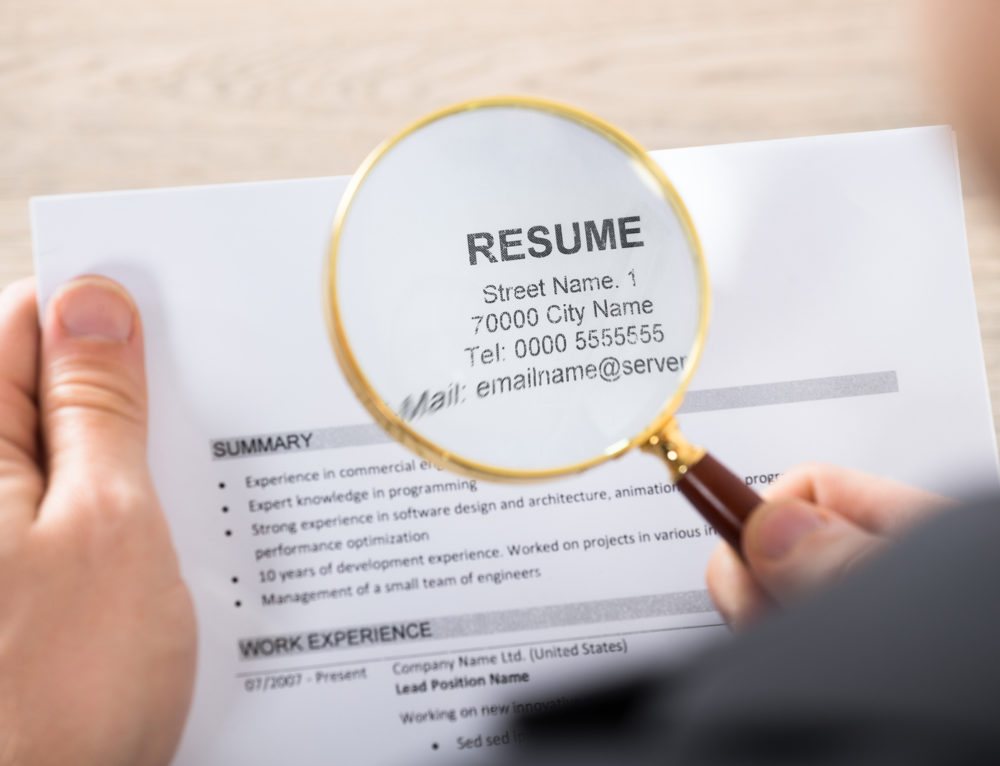 Why Every Square Inch of Your Resume Matters